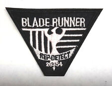 """Blade Runner Movie Rep Detect  4"""" Embroidered Uniform Patch-FREE S&H (BRPA-01)"""