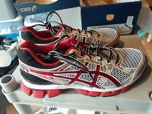 Asics Gt-3000  Mens Running Trainers T308N Sneakers white red black size 9