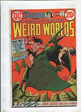 WEIRD WORLDS #4 (5.0) JOHN CARTER-WARLORD OF MARS!