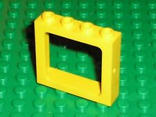 Fenetre jaune LEGO TRAIN Yellow window ref 4033 /set 7740 7735 7243 7819 ...