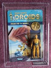 STAR Wars Droidi ADVENTURE C-3PO c3po Figura VINTAGE GRADAZIONE 85% AFA