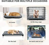 Dog Bed, Dog Crate Bed for Medium Dogs, Self-Warming Pet Crate Mat, Anti-Slip Ma