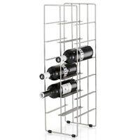 Blomus Weinflaschenregal Pilare für 12 Flaschen Stahl matt vernickelt 68486