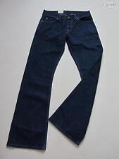 Levi's L34 (en) Indigo -/Dark-Wash Herren-Bootcut-Jeans mit niedriger Bundhöhe