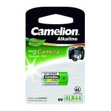 Camelion Plus Alkaline 4LR44 PX28A V4034PX A544 6V Photo Batterie 0%Mercury