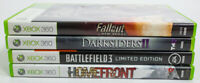 Xbox 360 Lot Of 4 Games Homefront Darksiders 2 Battlefield 3 Fall Out New Vegas
