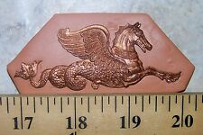 MYTHICAL MERMAID HORSE MOLD JEWELRY MAKING POLYMER CLAY PMC FIMO CLAY premo