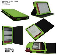 Tasche für Sony E-Book PRS-T3 PRS T3 m. Ständer Schlaffunktion Case Etui grün