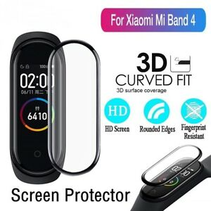 2x Full Cover Folie für Xiaomi Mi Band 4C 3D Full Edge Screen Display Schutz