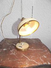 LAMPE ANCIENNE DESIGN REGLABLE EN FER DES ANNEES 1960--N°101