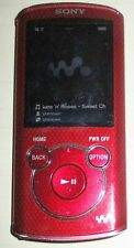 Sony NWZ-E464 Portable Media Player MP3 8 GB  + FM RADIO - Red