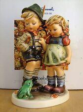 HUM #394 TIMID LITTLE SISTER TM6 GOEBEL HUMMEL FIGURINE GERMANY SIGNED NIB $550