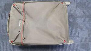 Samsonite Small Suitcase Red/Gray 37x53x20cm Lightweight 2.1kg Grade B
