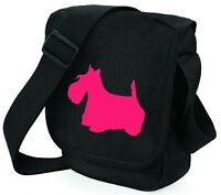 Scottie Dog Mini Reporter Shoulder Bags Scottish Terrier Bags Birthday Gift
