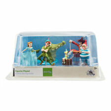 Authentic Disney Peter Pan Tinker Bell Figure Set figurine Toy Cake Topper New