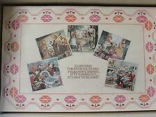 Vintage Early 1980's Set of 6 Elsie the Cow Borden Advertising Paper Placemats