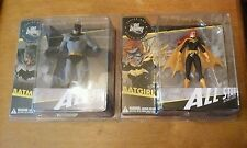 DC Direct All Star Batman and Batgirl Jim Lee Designer Figure Set Rare and HTF