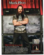 2010 MESA BOOGIE Mark V Amp JOHN PETRUCCI of Dream Theater Vtg Print Ad