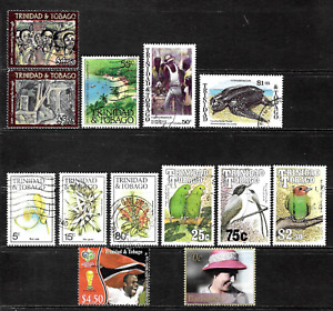 Trinidad & Tobago .. Good stamp collection .. 4519