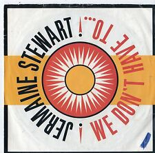 """Jermaine Stewart - We Don't Have To 7"""" Single 1986"""