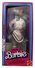 Vintage 1981 Eskimo Barbie Famous International Fashion Doll by Mattel #3898 NIB