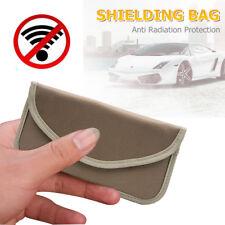 Mobile Phone Bank Card Shielding Bag Car Key Fob RFID Signal Blocker Jammer