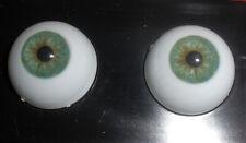 Doll Eyes:  22mm Teal Green  Monique Glastic Realistic (Acrylic) Eyes