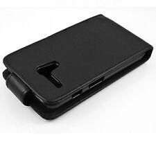 Black Leather Phone Pocket Hard Cover Case Protective For Motorola Moto G