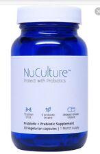 NuCulture Probiotics:Premium Probiotic Supplement Supports Digestion New Sealed