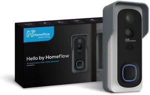 Smart Video Doorbell Smart Phone Door Camera Bell with Plug-In Chime