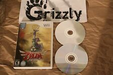 USED The Legend of Zelda: Skyward Sword Wii (NTSC) TESTED and WORKING