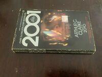 Stanley Kubrick 2001 Movie Tie In Vintage Paperback Arthur C Clarke