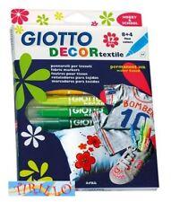 PITTURA SU STOFFA - Pennarelli per stoffa Giotto Decor Textile - scatola da 12