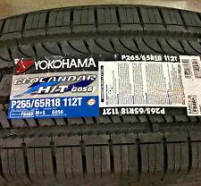 4 New 265 65 18 Yokohama Geolandar H/T G056 Tires