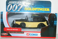 CORGI TY06801 ROLLS ROYCE 007 JAMES BOND GOLDFINGER