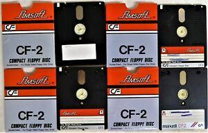4 Amsoft CF2 3 Inch Blank Discs For Sinclair ZX Spectrum OR Amstrad CPC / PCW
