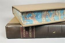 First Edition Annals of Aberdeen King William to 1818 2 Volume Book History Set