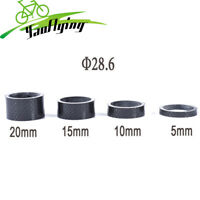 "gobike88 GD RACING UD CARBON 1-1//8/"" Headset Spacer 5mm x 2pcs N95 Black"