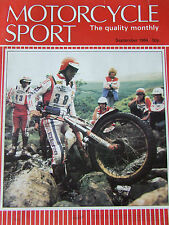MOTORCYCLE SPORT SEP 1984 FRENCH ENDURANCE RACES MY RICKMAN MISANO GREENLANING
