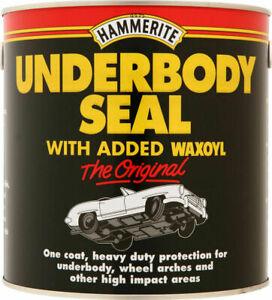 Hammerite Waxoyl 1 Litre LTR Underbody Seal Underseal 5092952