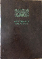 💰1910 -1964 Australian Half Penny Full Album Set - Dansco album Inc.1923