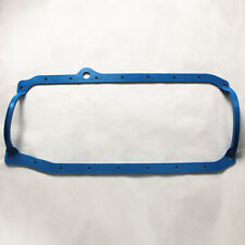 SBC 1 Piece Oil Pan Gasket Blue 86 - Up Late Fits SB 305 350 383 400