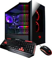 NEW iBuyPower Gaming PC Desktop i7-8700 16GB RAM 240GB SSD 2TB HDD GTX 1070 8GB