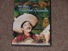 Alla en Rancho Grande (Jorge Negrete, Armando Soto, La Marina) Brand New DVD