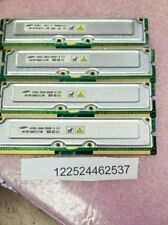 1GB KIT 4X 256MB RAMBUS  PC RDRAM RIMM 800-40  184PIN ECC UNBUFFERED LOW DENSITY