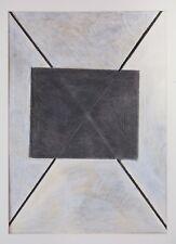 Walter FUSI Pastelli e Frottage cm. 56X75,5 anno 1980 - CON AUTENTICA