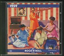 TIME LIFE The Rock'n'Roll Era 1959 CD Neil Sedaka Connie Francis Frankie Avalon