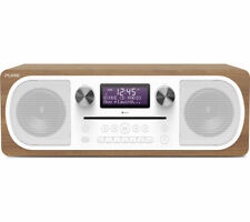 PURE EVOKE C-D6 ALL IN ONE STEREO BLUETOOTH DAB+ DIGITAL RADIO CD PLAYER WALNUT