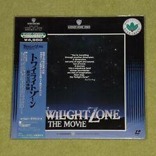 TWILIGHT ZONE THE MOVIE [1983/Sci-Fi Horror] - RARE JAPAN NEW/SEALED LASERDISC