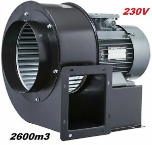 2600m3/h Absauganlage Absaugventilator, Absauggebläse Gebläse-Ventilator-lüfter
